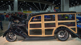 Ford Woodie Wagon 1937 Photos stock