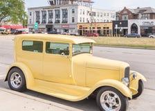 1928 Ford, Woodward drömkryssning MI Arkivfoton