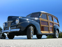 1941 Ford Woody Stock Afbeeldingen