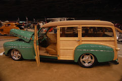 1946 Ford Woody Custom Rod Wagon Stock Photos