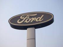 Ford-Zeichen lizenzfreies stockfoto