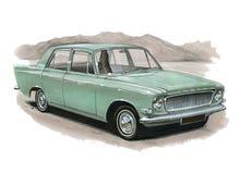 Ford Zephyr MkIII illustration de vecteur