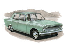 Ford Zephyr MkIII Stock Photos