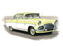 Ford Zodiac MkII Stock Photo