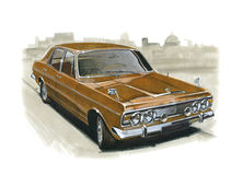 Ford Zodiac MkIV Stock Images