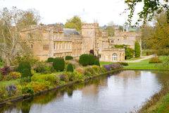 Forde Abbey Dorset England in autumn Royalty Free Stock Photography