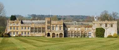 Forde Abbey, Somerset Royalty Free Stock Photo