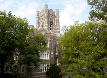 Fordham Unoversity Church Royalty Free Stock Images