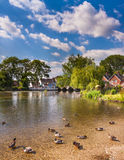 Fordingbridge and the River Avon in Hampshire Royalty Free Stock Image