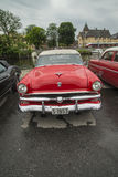 1953 fordomatic convertibili di crestline di guado Immagine Stock Libera da Diritti