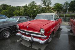 1953 fordomatic convertibles de crestline de gué Photos libres de droits