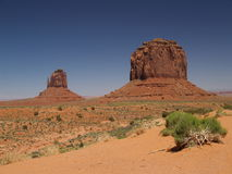 Fordpoint view. View from fordpoint in monument valley Stock Image