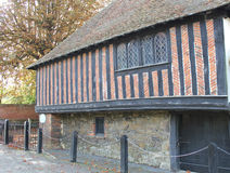 Fordwich Jailhouse. This photo shows the old Fordwich Jailhouse Royalty Free Stock Photography