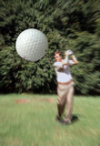 Fore! Royalty Free Stock Photo