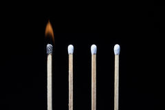 Fore matches Stock Images