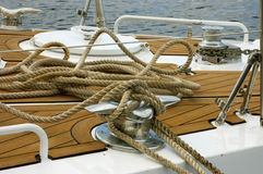 Fore a part of a boat Royalty Free Stock Photography