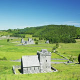 Fore Priory. In County Westmeath, Ireland Royalty Free Stock Images
