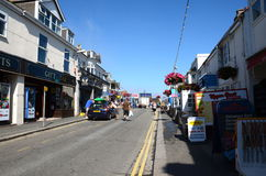 Fore Street, Newquay Royalty Free Stock Photography