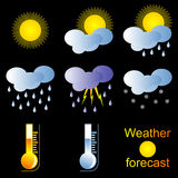 Forecast. Royalty Free Stock Photography