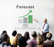 Forecast Estimate Future Planning Predict Strategy Concept Royalty Free Stock Photos