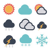 Forecast icon Stock Image