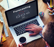 Forecasting Forecast Estimation Business Future Concept Royalty Free Stock Photos