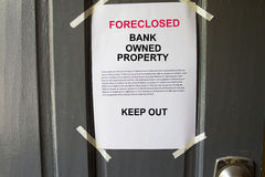 Foreclosed property Royalty Free Stock Photography