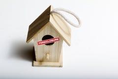 Foreclosed ptaka dom Obrazy Stock