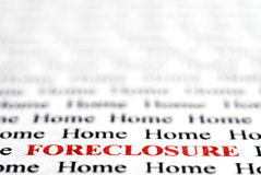 Foreclosure Royalty Free Stock Photo