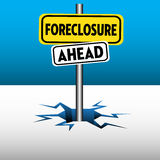 Foreclosure ahead Stock Images