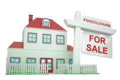 Foreclosure House Royalty Free Stock Images
