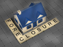 Foreclosure housing tiles Stock Images
