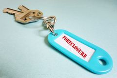 Foreclosure keys Stock Photography