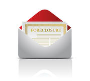Foreclosure notice letter. Real estate foreclosure notice letter Stock Photography