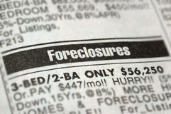 Foreclosures Royalty Free Stock Photography