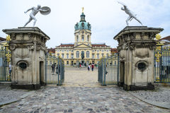 Forecourt entrance charlottenburg berlin germany europe Royalty Free Stock Image