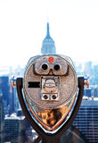 Top of the Rockefeller center Stock Images