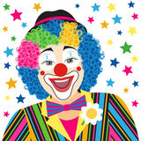 Foreground clown Stock Image