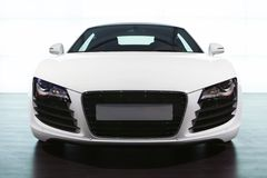 Free Foreground Of White Sportcar Audi Stock Photography - 6989082