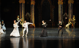 Foreign envoys-The prince adult ceremony-ballet Swan Lake Stock Image