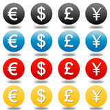 Foreign exchange Royalty Free Stock Photos