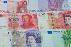 Foreign exchange Royalty Free Stock Image