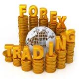 Foreign exchange concept Stock Photos