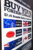 Foreign exchange rates Royalty Free Stock Photo