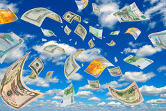 Foreign exchange transactions. Royalty Free Stock Photography