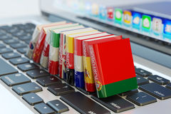 Foreign languages learn and translate education concept stock photos
