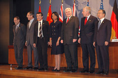 Foreign ministers Stock Photos