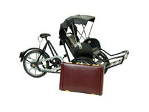 Miniature rickshaw Royalty Free Stock Images