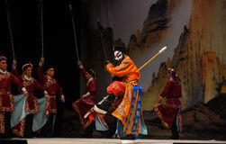 """Foreign troops- Beijing Opera"""" Women Generals of Yang Family"""" Stock Photo"""