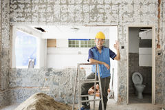 Foreign worker Stock Photo